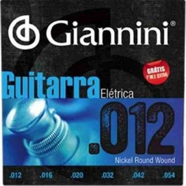 Encordoamento Guitarra .012 Giannini GEEGST12