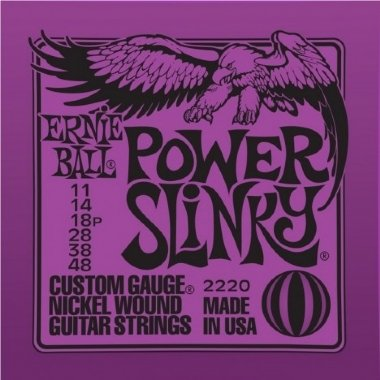 Encordoamento Guitarra Power Slinky .011 Ernie Ball 2220