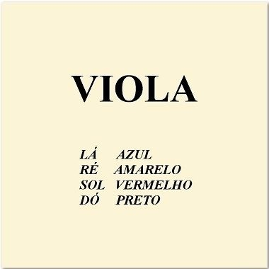 Encordoamento Viola de Arco 4/4 M. Calixto