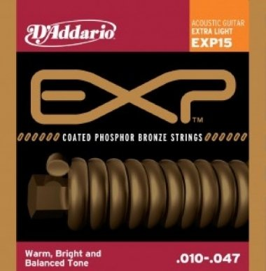 Encordoamento Violão Aço .010 D'Addario Extra Light EXP15