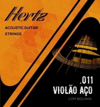 Encordoamento Violão Aço .011 Hertz HSA11