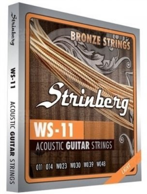 Encordoamento Violão Aço .011 Strinberg Extra Light WS-11