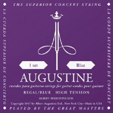 Encordoamento Violão Nylon Augustine Regal Blue .028 Tensão Alta
