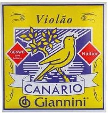 Encordoamento Violão Nylon Giannini Canário .028 GENWB