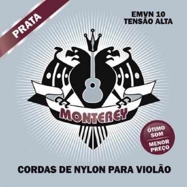 Encordoamento Violão Nylon Monterey Tensão Alta EMVN10