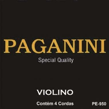 Encordoamento Violino 3/4 e 4/4 Paganini PE-950