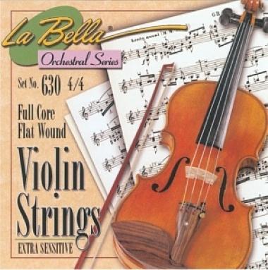 Encordoamento Violino 4/4 La Bella Extra Sensitive 630