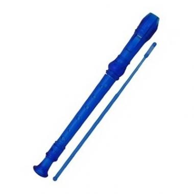 Flauta Doce Germânica Concert TRC57G Azul