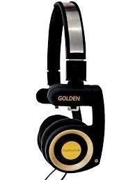 Headphone Golden Portable