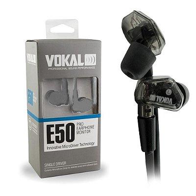 Fone de Ouvido In Ear Vokal E50 Pro