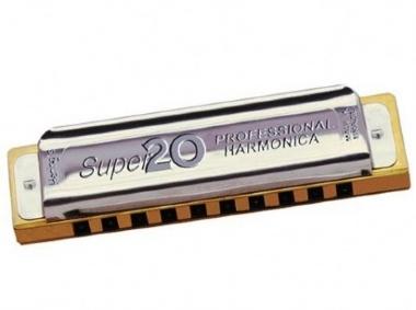 Gaita Diatônica Hering Super 20 8020 D Ré