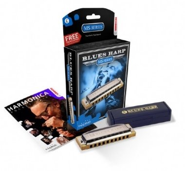 Gaita Diatônica Hohner Blues Harp MS 532/20 G Sol