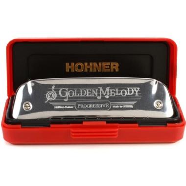 Gaita Diatônica Hohner Golden Melody 542/20 A La