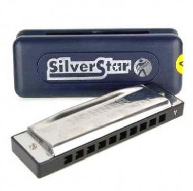 Gaita Diatônica Hohner Silver Star 504/20 D Ré