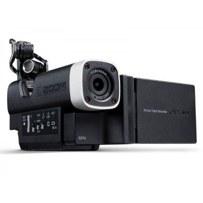 Gravador Digital de Áudio e Vídeo Zoom Q4 + Brinde