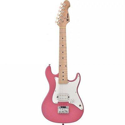 Guitarra Infantil Phoenix Stratocaster JR IST-H Rosa