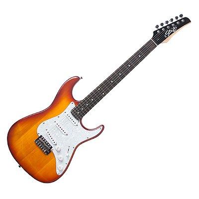 Guitarra Seizi Vision Stratocaster Honeyburst