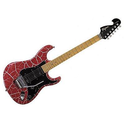 Guitarra Tagima Stratocaster JA2 Juninho Afram Craquelada Red com Case
