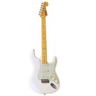 Guitarra Tagima Stratocaster Woodstock Series TG530 Branco Vintage