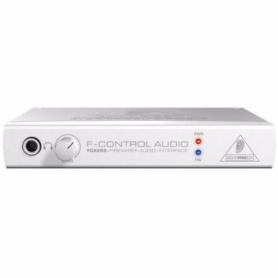 Interface de Áudio Behringer F-Control FCA202