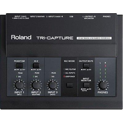Interface de Áudio Roland Tri-Capture UA 33