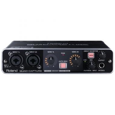Interface de Áudio Roland UA55 Quad-Capture