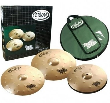 Kit de Pratos Orion Rage Bass RB70