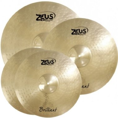 Kit de Pratos Zeus Brilliant B20 Set C