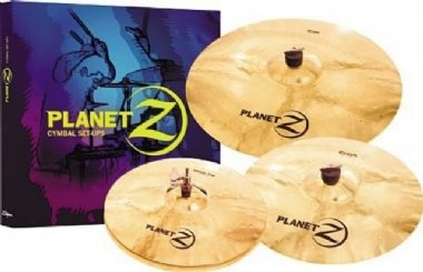 Kit de Pratos Zildjian Planet PZ 4PK