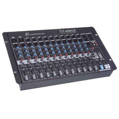 Mesa de Som 12 Canais LL Audio Starmix S1202D MN