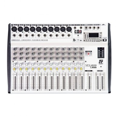 Mesa de Som 12 Canais Staner MX1203 USB 38458