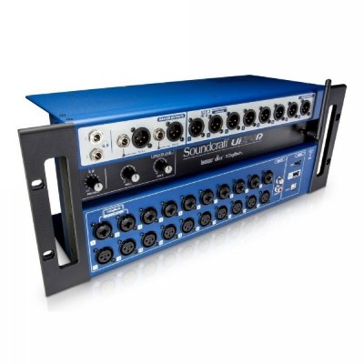 Mesa de Som Digital 24 Canais Soundcraft UI24R