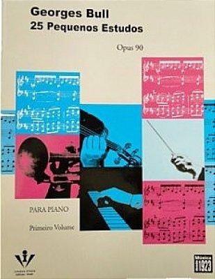 Método 25 Pequenos Estudos para Piano - Vol 1