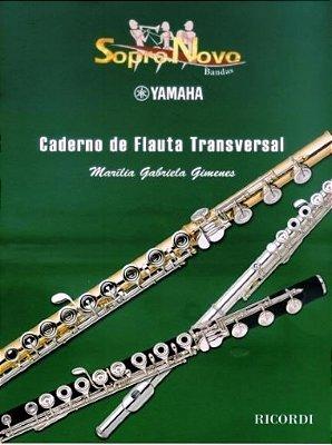 Método Caderno de Flauta Transversal Marília Gabriela