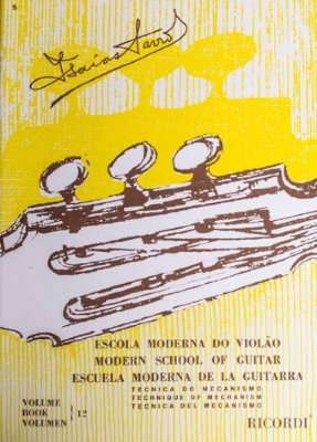 Método Escola Moderna do Violão Isaías Savio - Vol 1