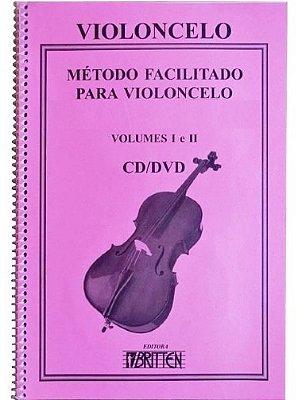 Método Facilitando para Violoncelo - Vol 1 e 2