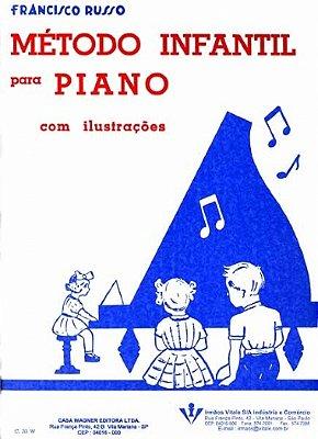 Método Infantil para Piano Francisco Russo