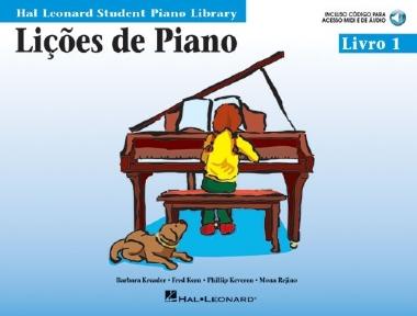 Método Lições de Piano Hal Leonard - Vol 1