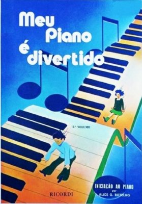 Método Meu Piano é Divertido - Vol 1