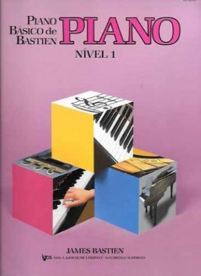 Método Piano Básico de Bastien - Nível 1