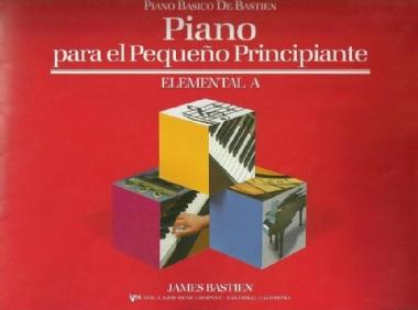 Método Piano Básico de Bastien Nível Elemental A