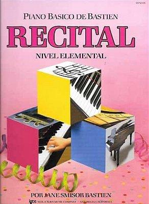 Método Piano Básico de Bastien Recital Nível Elemental