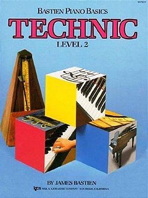 Método Piano Básico de Bastien Técnica - Nível 2