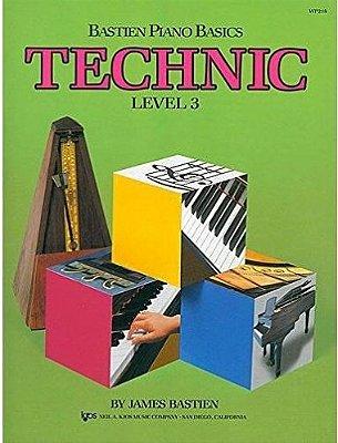 Método Piano Básico de Bastien Técnica - Nível 3