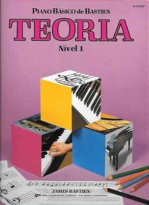 Método Piano Básico de Bastien Teoria - Nível 1