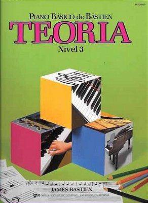 Método Piano Básico de Bastien Teoria - Nível 3