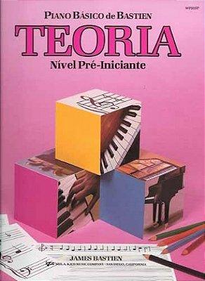 Método Piano Básico de Bastien Teoria Pré Iniciante