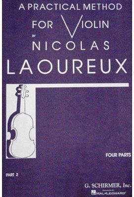 Método Prático para Violino Nicolas Laoureux - Vol 2