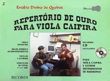 Método Repertório de Ouro para Viola Caipira