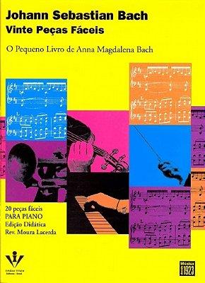 Método Vinte Peças Fáceis Johann S. Bach